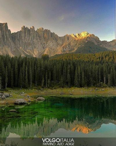 Trentino #Alto #Adige: #Karersee Wildsee /Lago di Carezza  Foto di @ivodiv... (volgotrentinoaltoadige) (link: http://ift.tt/2cygI7H )