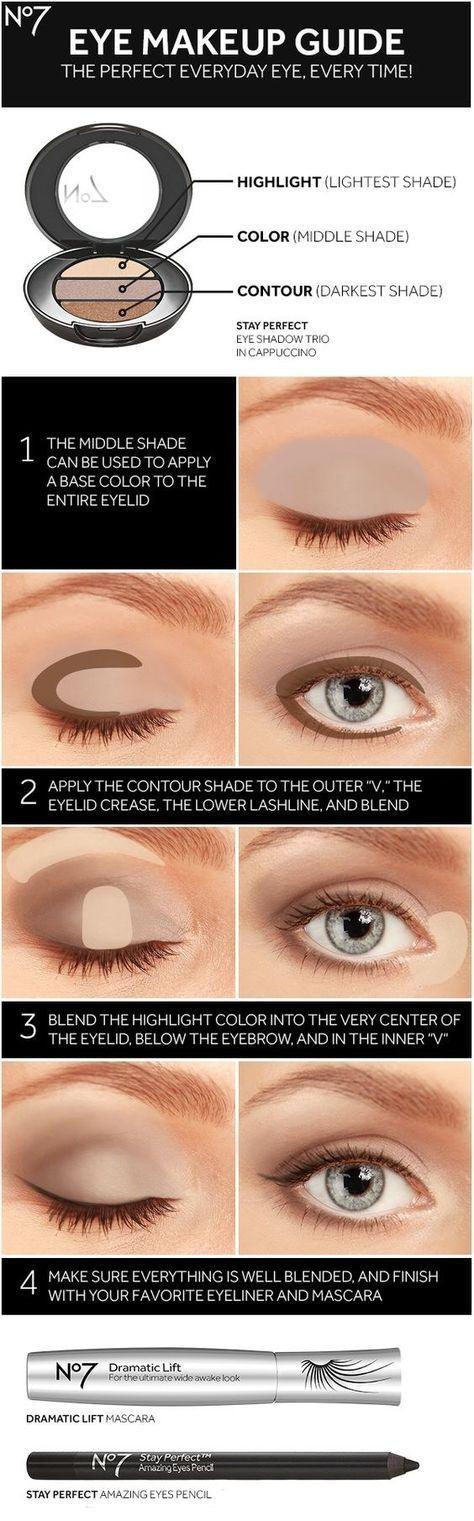 Photo of Befolgen Sie diese Anleitung, um zu erfahren, wie Sie eine Palette mit drei Farbtönen voll ausschöpfen können … – Make-up Geheimnisse