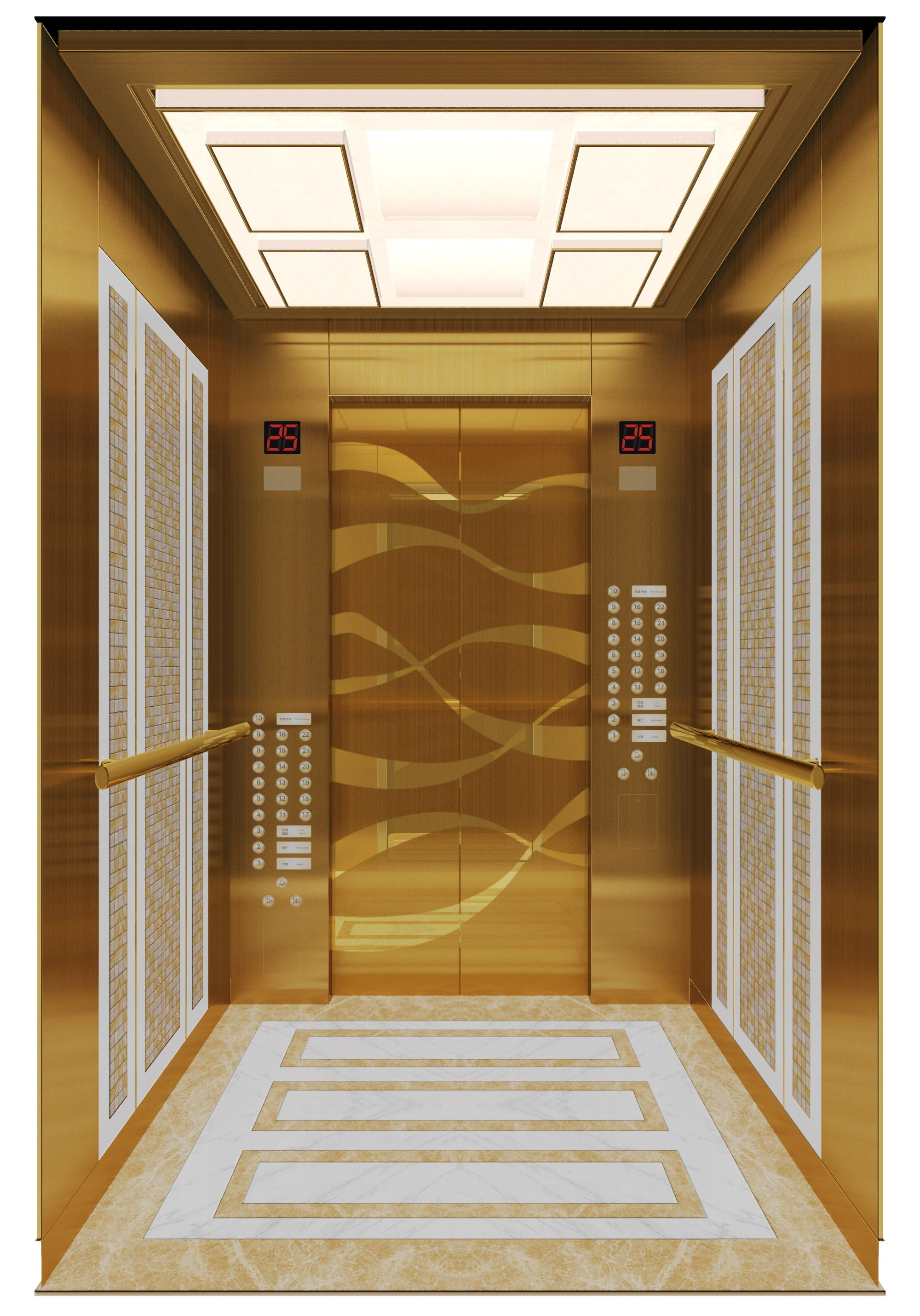Stainless Steel Etching Decorative Elevator Sheet