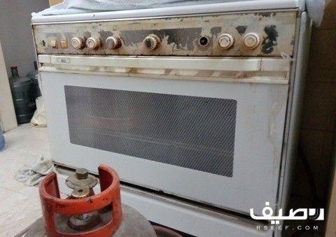 بوتجاز 5 عيون مع فرن شعله من اعلي واسفل مع انبوبة غاز بحي المصيف السعر 350 ريال Kitchen Appliances Kitchen Oven