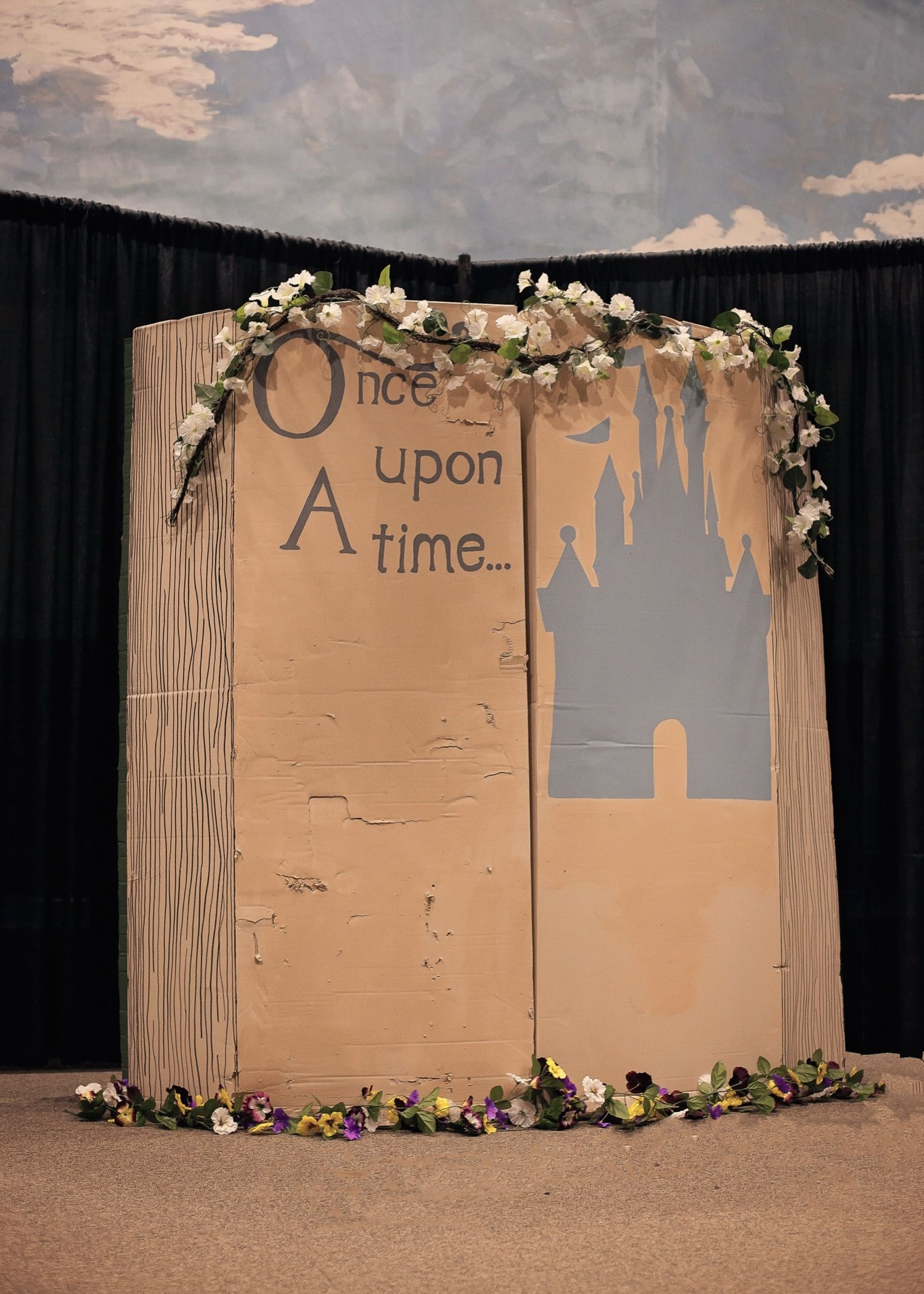 Disney Once Upon A Time Book Decorations Photo Booth Disney