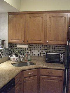Ashley S Rowhome My 13 Kitchen Facelift Kitchen Facelift Diy Kitchen Backsplash Diy Kitchen