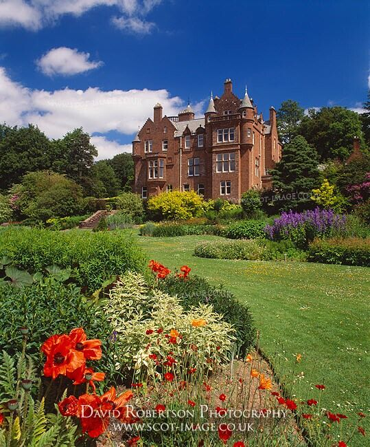 Threave House and Garden, Castle Douglas, Dumfries and Galloway, Scotland, UK. Property of the National Trust for Scotland