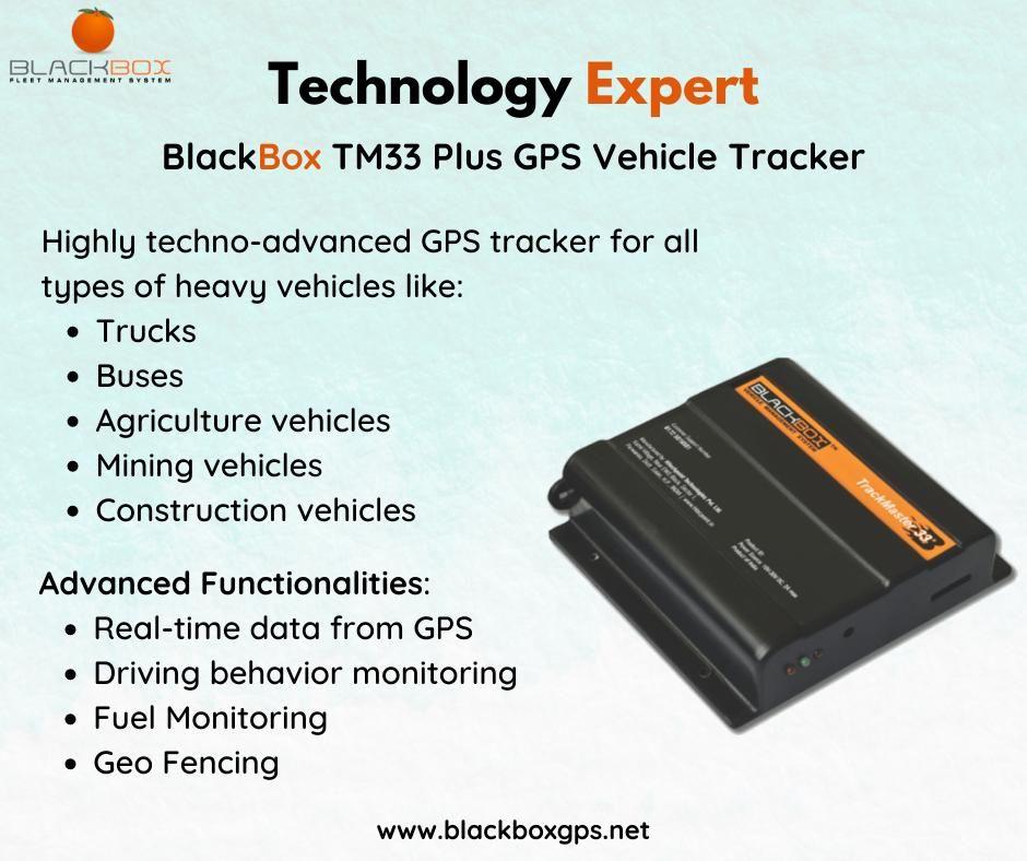 Blackbox Tm33 Gps Vehicle Tracker Vehicle Tracking System Gps Vehicle Tracking Gps