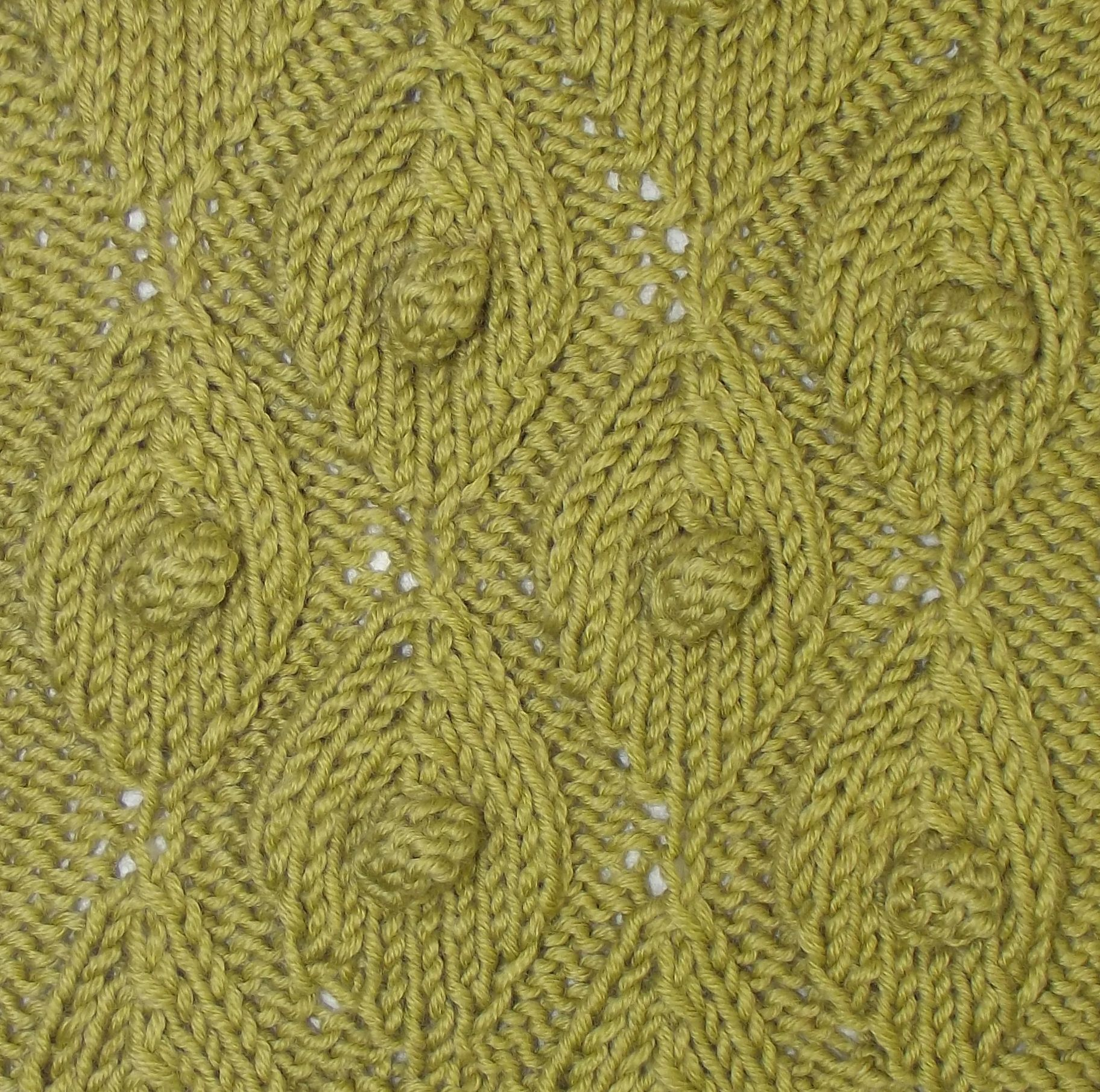 Palm leaf and bobbles is a great textured pattern found in the palm leaf and bobbles is a great textured pattern found in the bobbles slip stitches bankloansurffo Choice Image