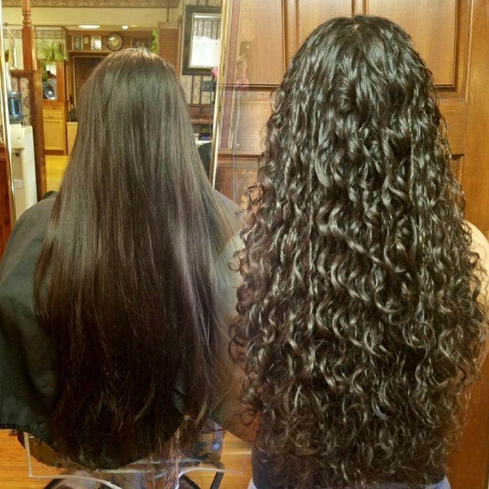 My First Spiral Wrap Perm Spiral Perm Short Permed Hair Spiral Perm Short Hair