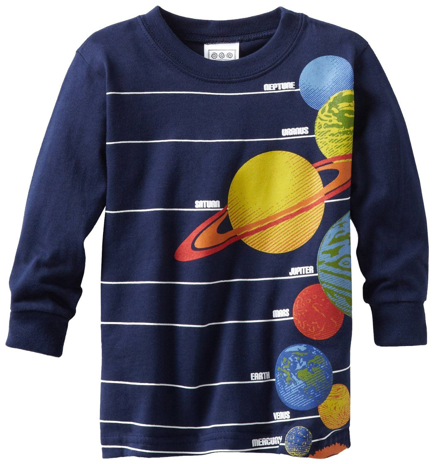 Tumbleweed Boys Solar System Shirt: With all the planets front and center, this soft cotton solar system tee ($26) is just right for teaching your child all about the great big universe.
