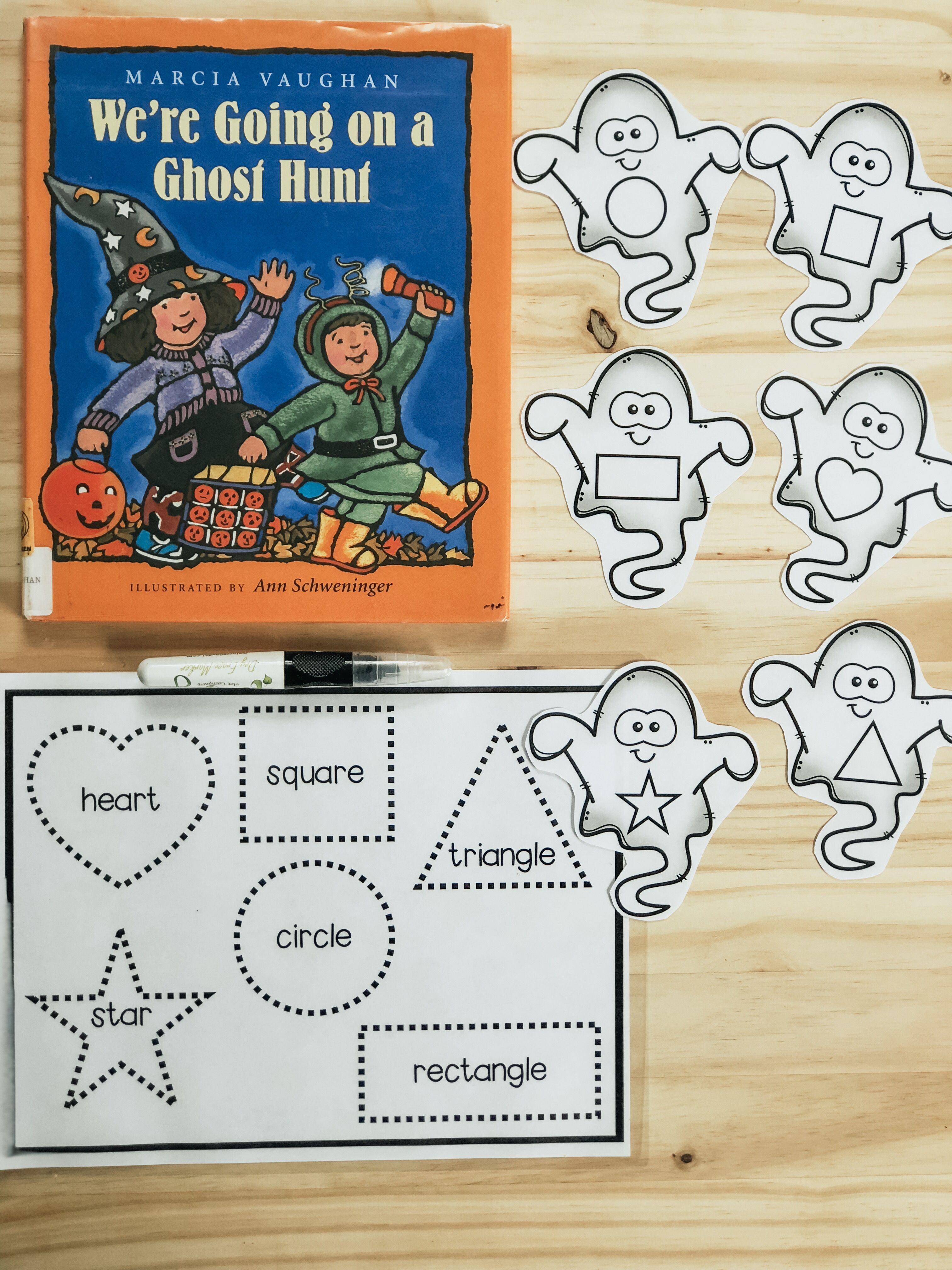 Halloween Tot School Lesson Plans And By Mrs
