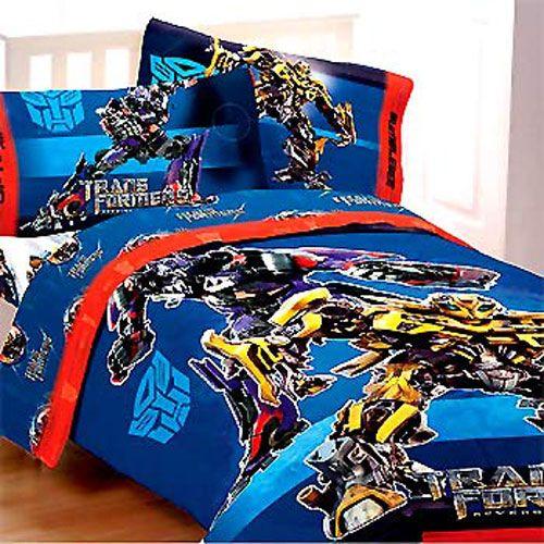 3pc Transformers Armada Optimus Prime Twin Bed Sheet Set
