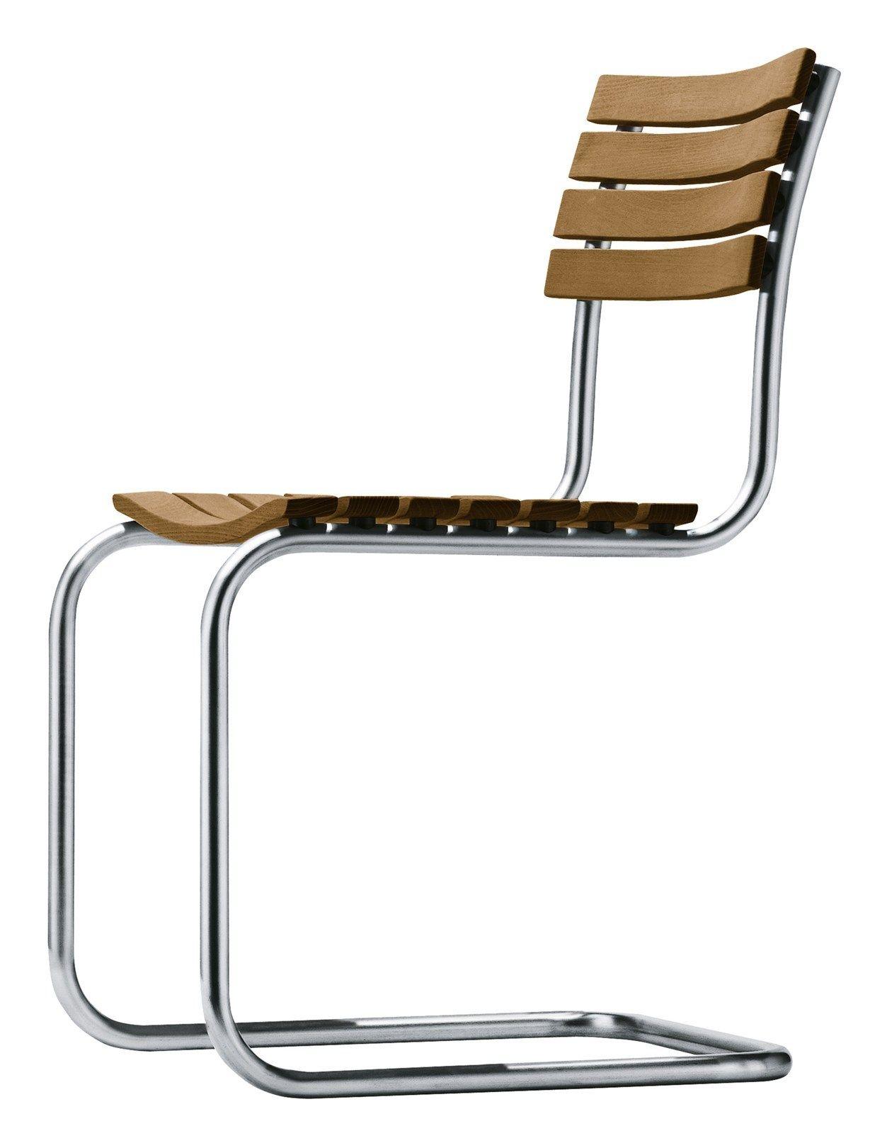 La sedia thonet s 40 firmata mart stam compie 80 anni il for Sedia design anni 40