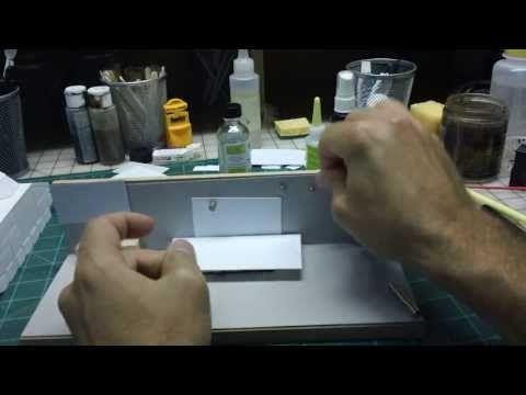Scratch Built Styrene Model Tool - Like having Eight Hands! - YouTube