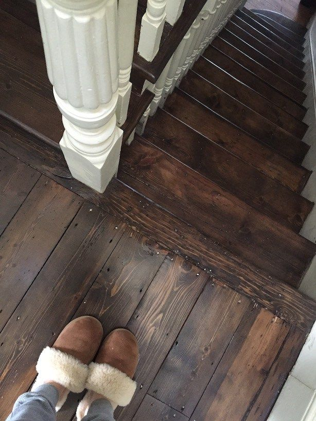 Restoring Old Wooden Floors In A Victorian House Flooring For