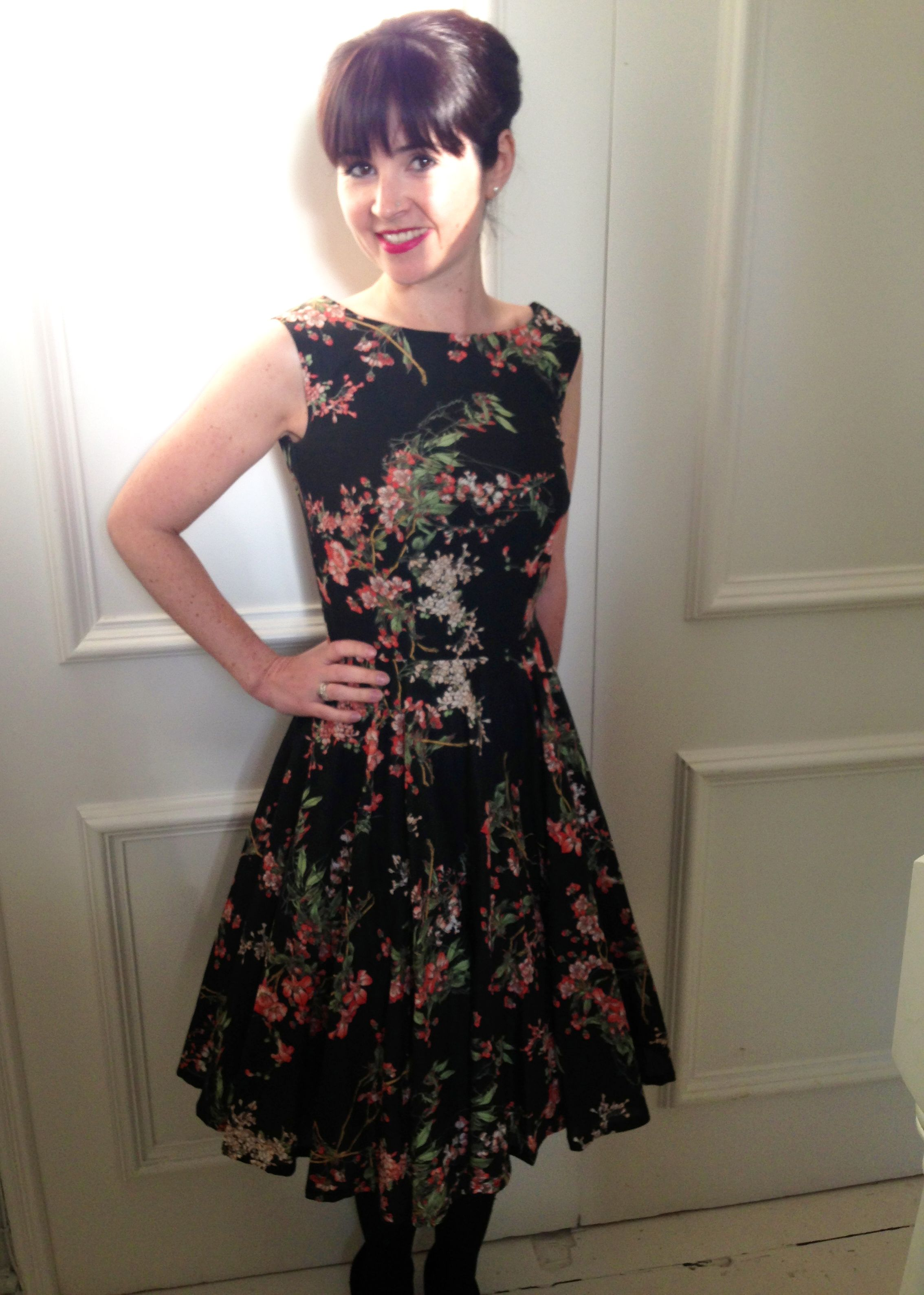 Lisa\'s Betty in beautiful Japanese style print, worn with a 1950\'s ...
