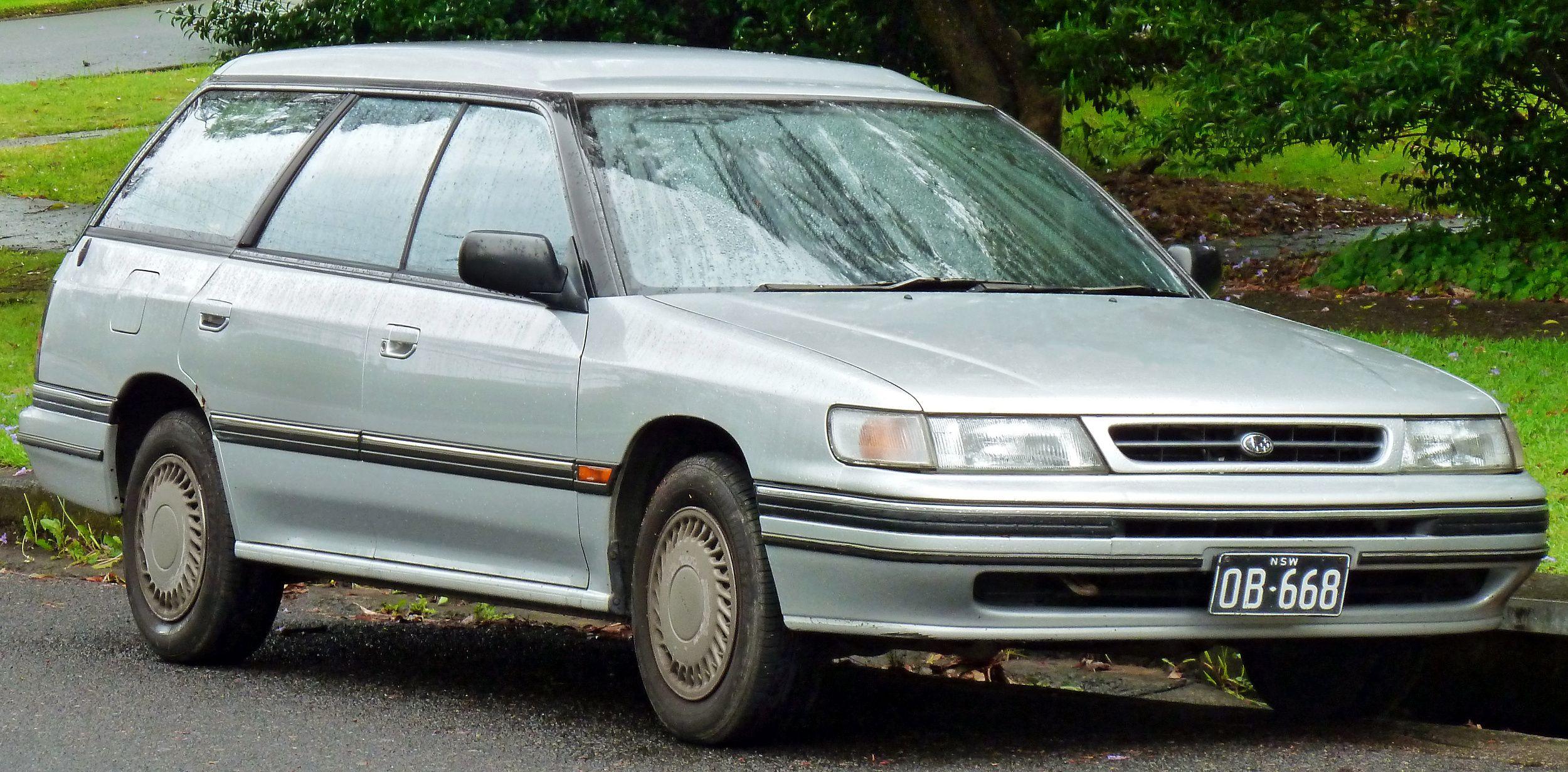 1992 Subaru Legacy Wagon Subaru legacy, Subaru legacy