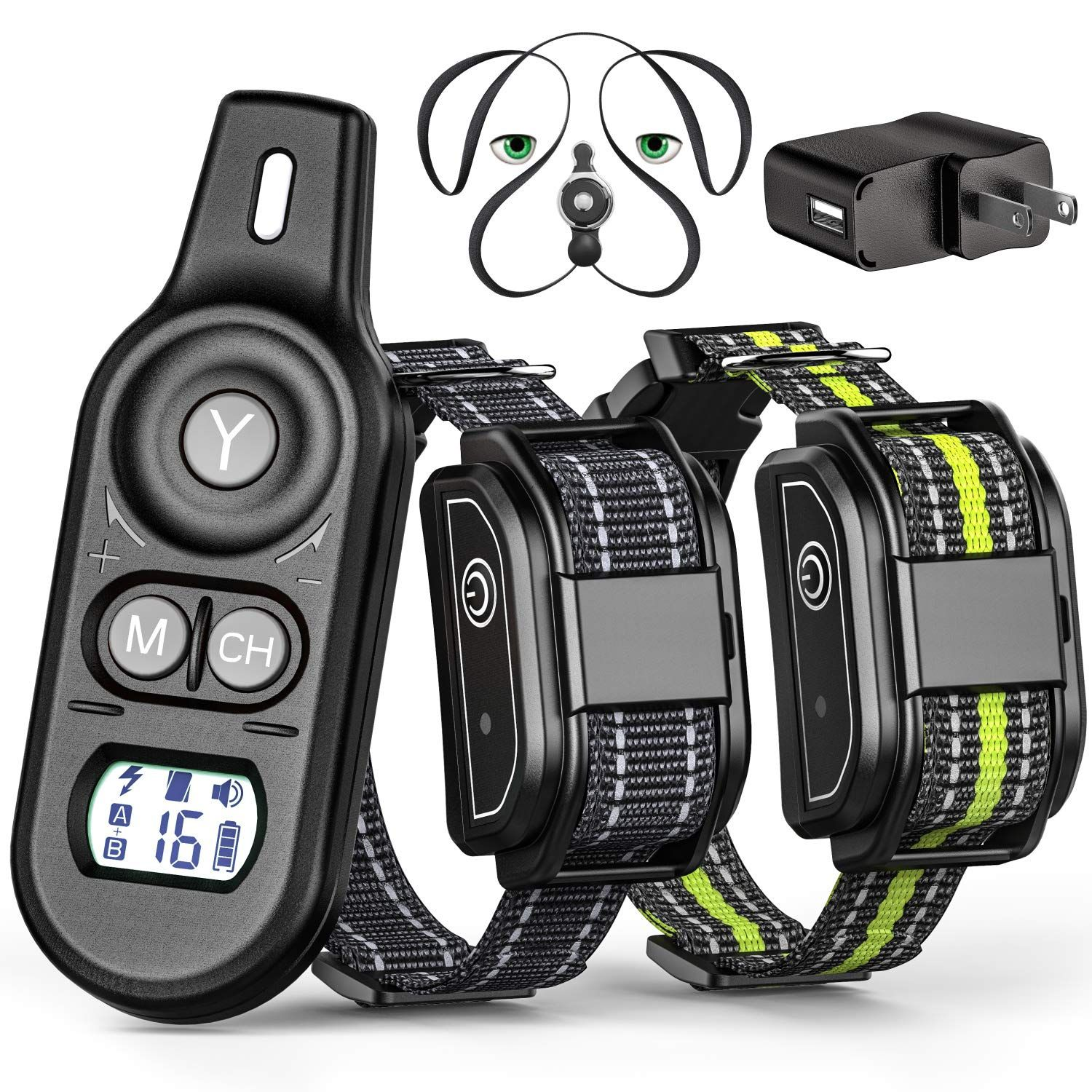 Veckle Dog Training Collar 2019 Upgraded Rechargeable Shock
