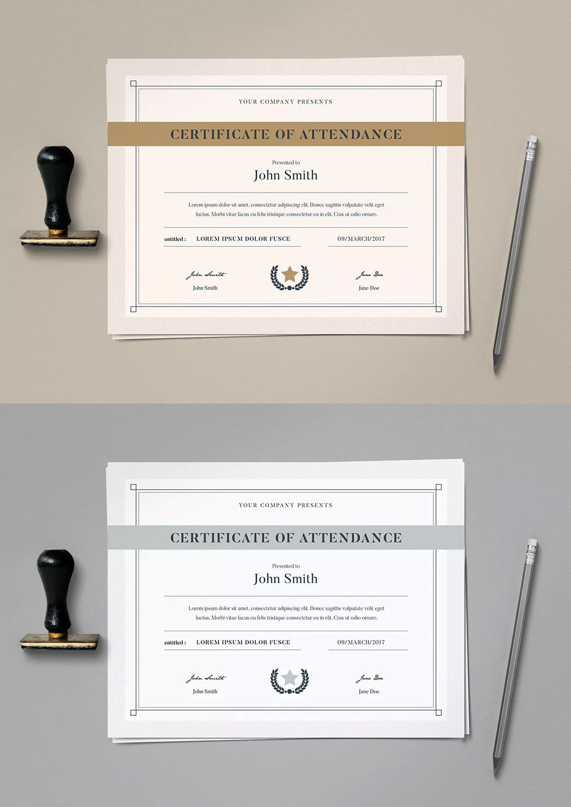 Simple Certificate Template Ai Psd Certifikat Diplom Pinterest