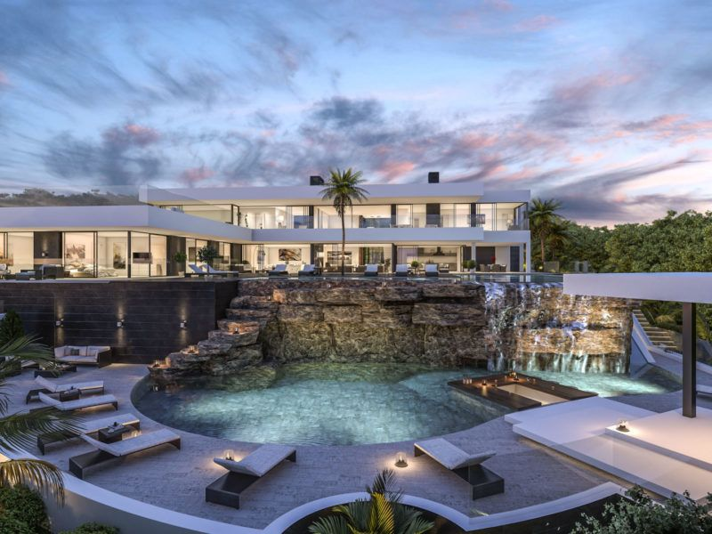 Modern Villas Luxury Homes In Marbella Madrid Portfolio Casas Modernas De Lujo Casas Extravagantes Casas Mansiones
