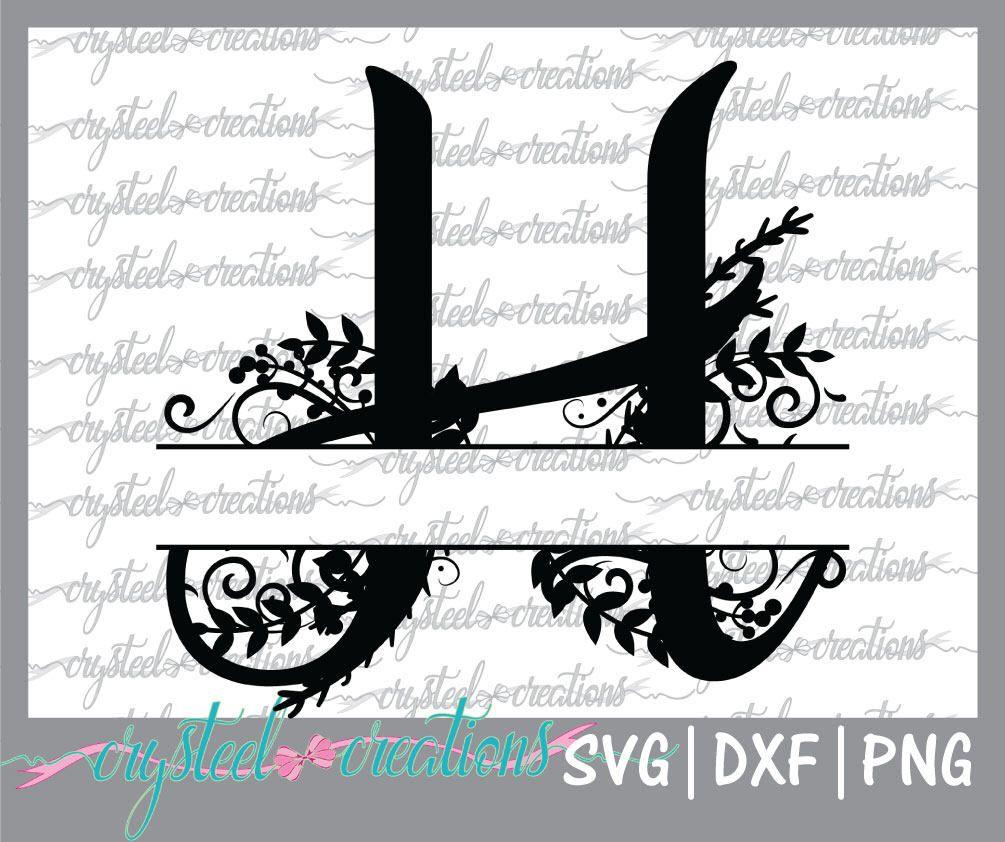 Letter H Split Monogram Svg Png Dxf Regal Split Alphabet Etsy In 2020 Letter H Design Monogram Fonts Monogram Svg