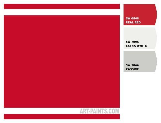 Sherwin Williams Door Paint Color Cherry Red