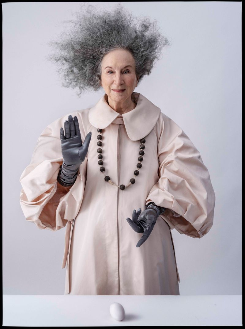 LOVE THIS: Margaret Atwood by Tim Walker #margaretatwood