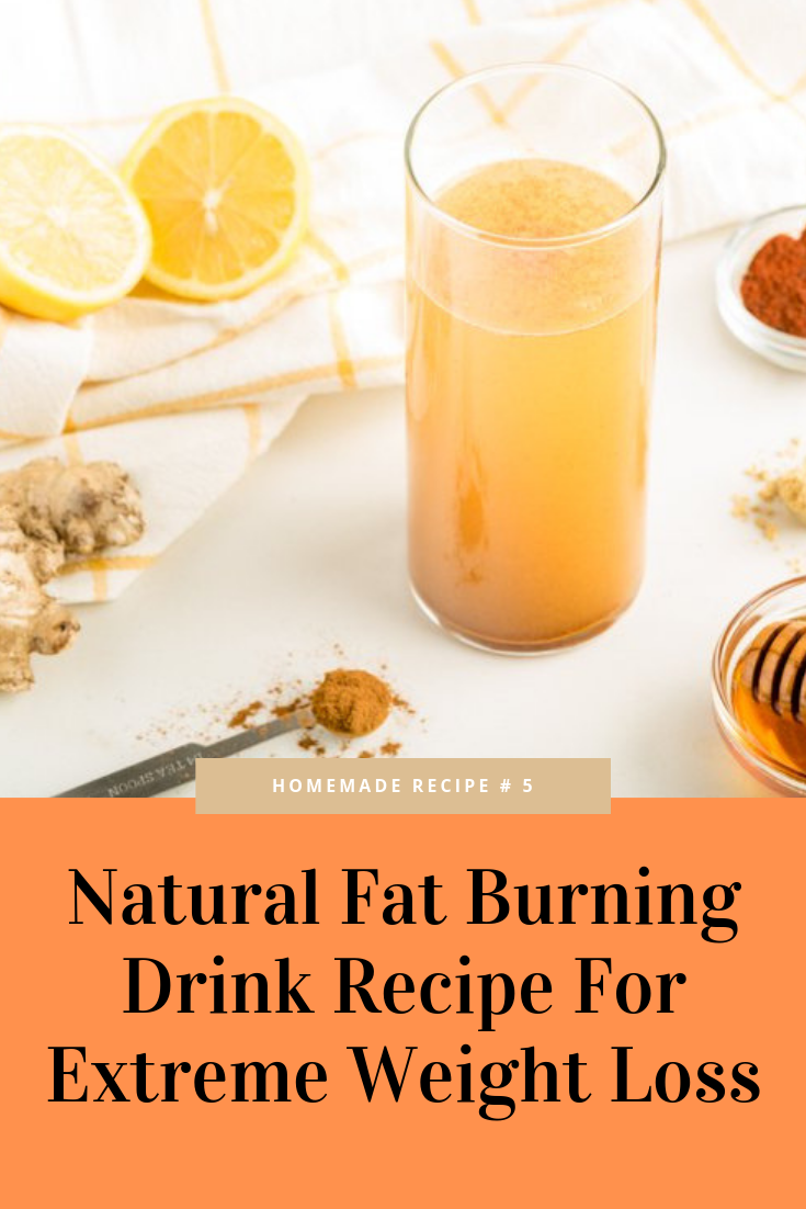 Natural Fat Burning Drink Recipe For Extreme Weight Loss - weight loss tips fat burning