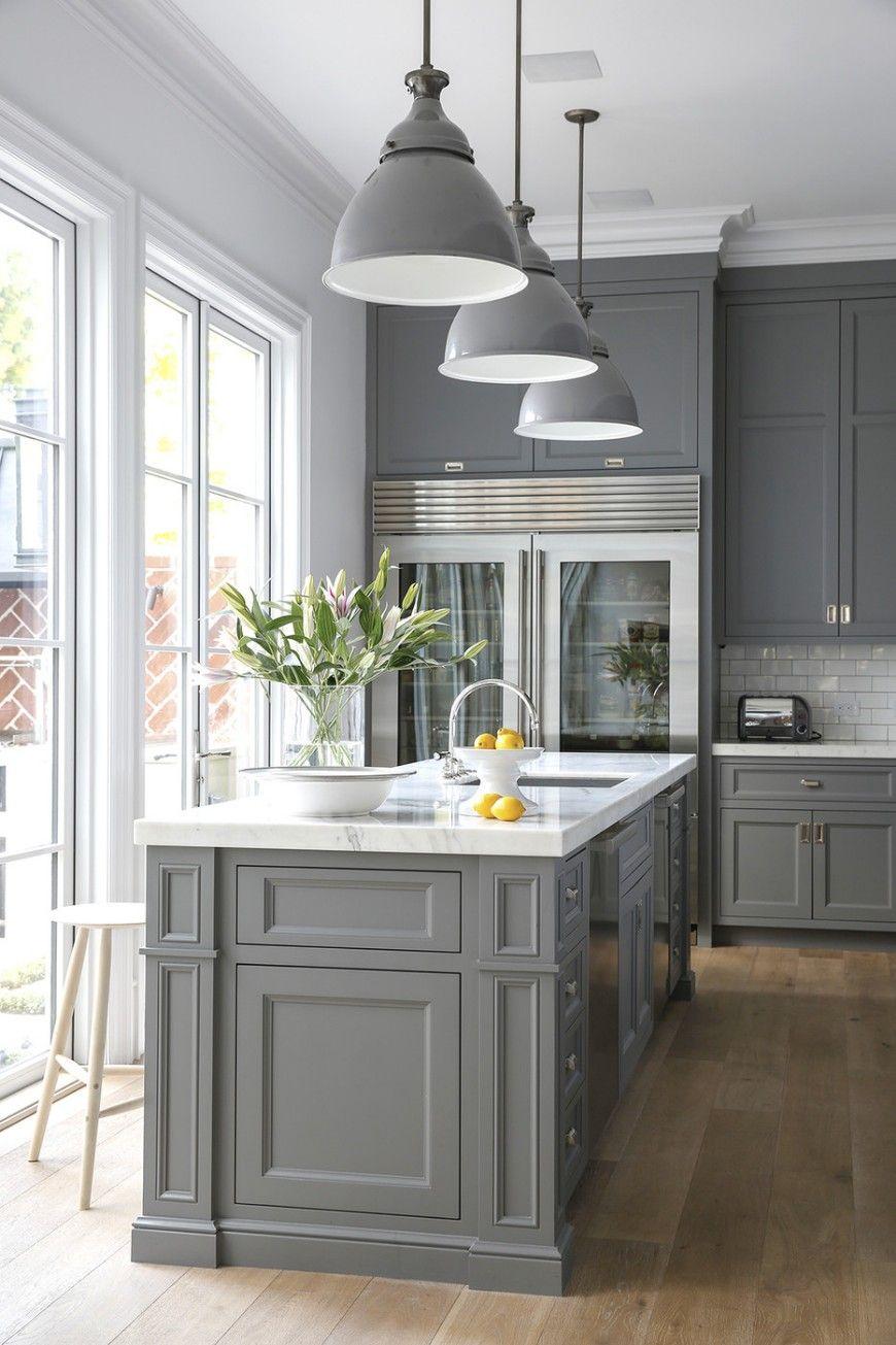 Küchenideen mit grauen schränken küche designs beste graue küchenideen für einen schicken raum küche