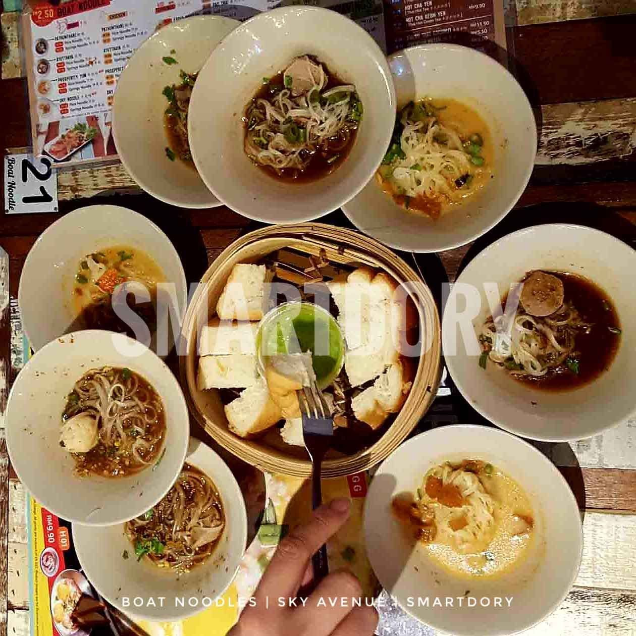 24 Hour Food Trail Experience Sky Avenue Boat Noodle Food Food Challenge A Food