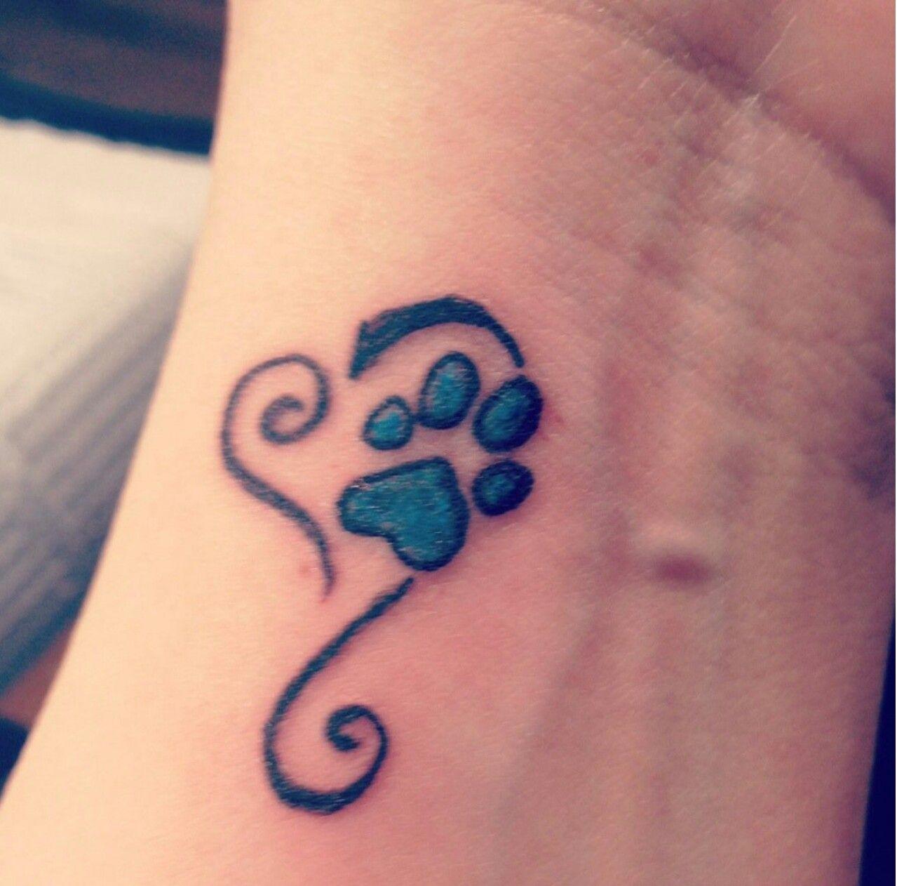 Small Memorial Tattoos: Pet Memorial Tattoo …