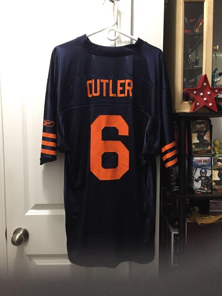 cb2681561ea Chicago Bears NFL - Jay Cutler Quarterback - Adult Size Large Jersey #Reebok  #ChicagoBears