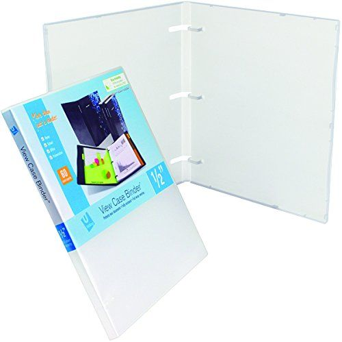 Unikeep 3 Ring Binder Clear Fully Enclosed View Binde Unikeep Https Www Amazon Com Dp B014tcqh1a Ref Cm Sw R Pi Dp X Vidl Binder Clear Cases Overlays