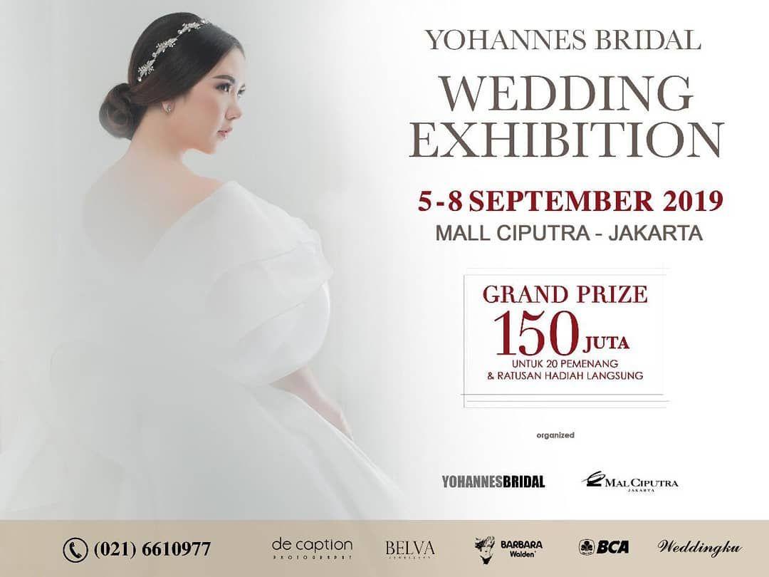 Datang Dan Nikmati Promo Yohannes Bridal Nikmati Harga Promo Discount S D 50 Dan Dapatkan Bonus Dan Penawaran Terbaiknya Yoha Wedding Bridal Wedding Bridal