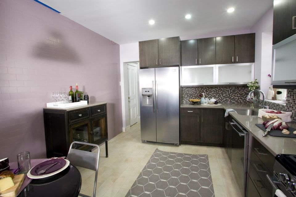 Purple Kitchen Cabinets Modern Kitchen Color Schemes Purple