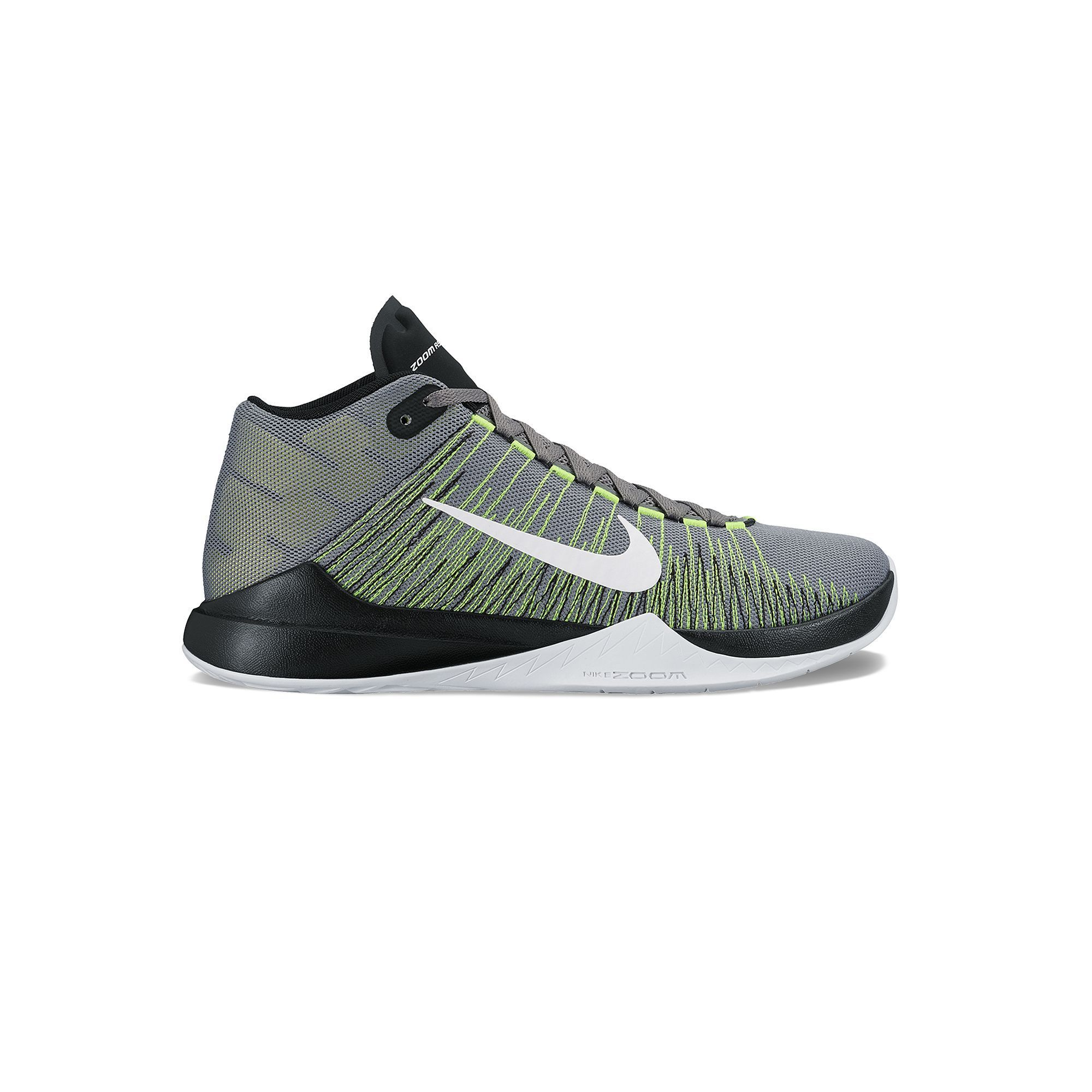 Nike Zoom Ascension Men's Basketball Shoes, Black