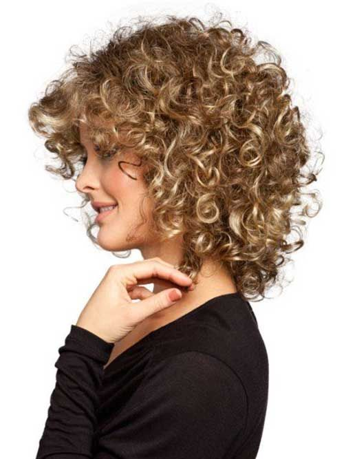 Marvelous Looking Short Hairstyles for Curly Hair | Curly ...