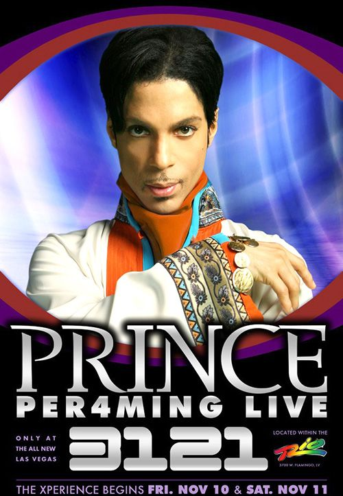 Image result for 3121 prince poster las vegas