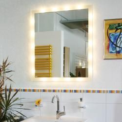 Photo of Top Light SideLight LED light mirror with 18 Led Top LightTop Light