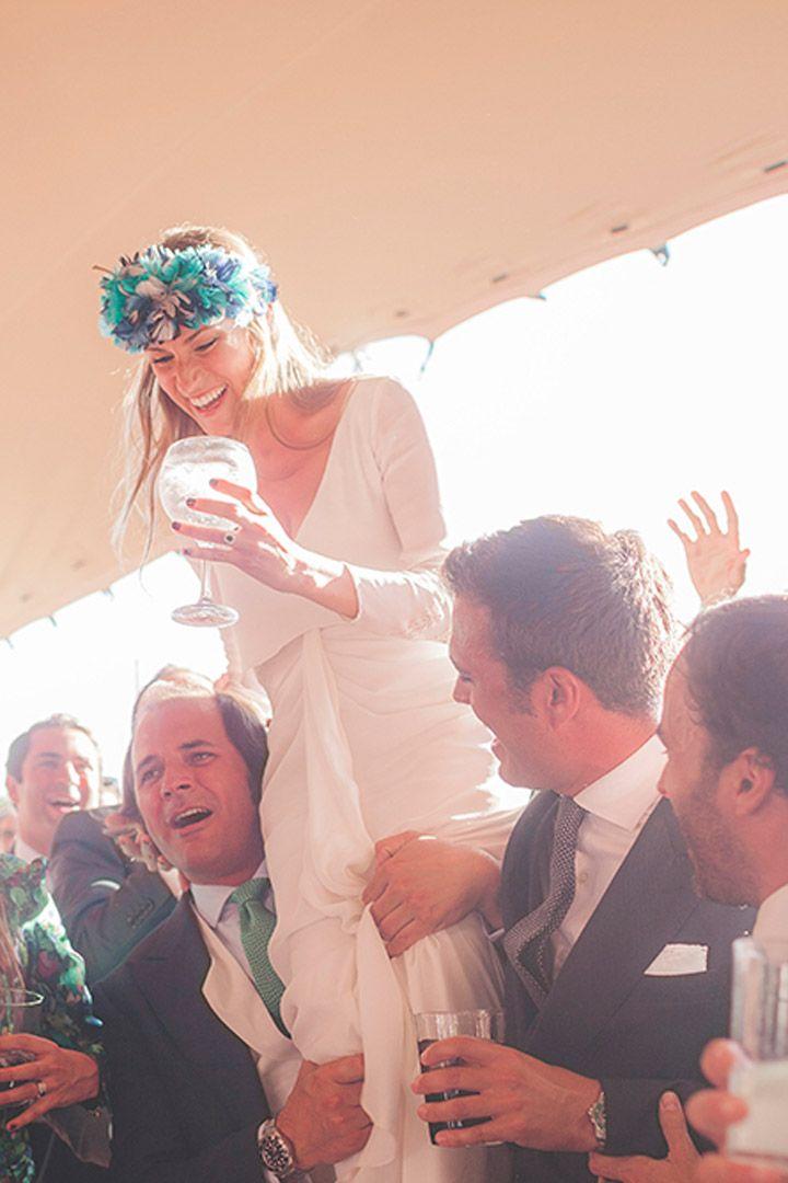 Las bodas de gente real más inspiradoras http://stylelovely.com ...
