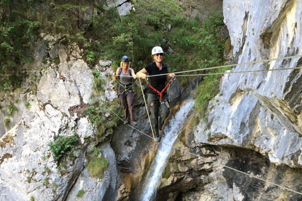 Klettersteigset Bergzeit : Klettersteig st. anton im montafon © bergführer lukas