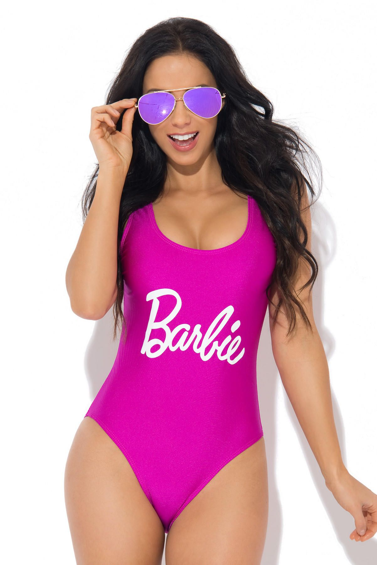 bff634e516c6f Barbie One Piece Swimsuit Purple from Fashion Effect Store. Shop more  products from Fashion Effect Store on Wanelo.