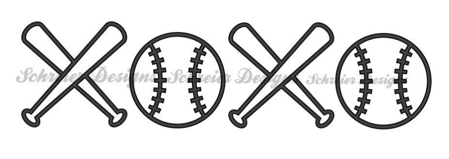Baseball Svg Png Vector File Baseball Xoxo Svg Cricut Etsy Baseball Svg Cricut Svg Svg