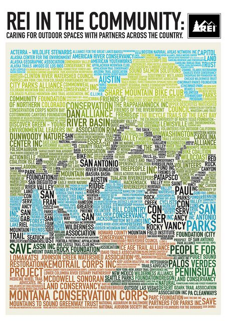 Thanks Rei Community Foundation Rei Infographic