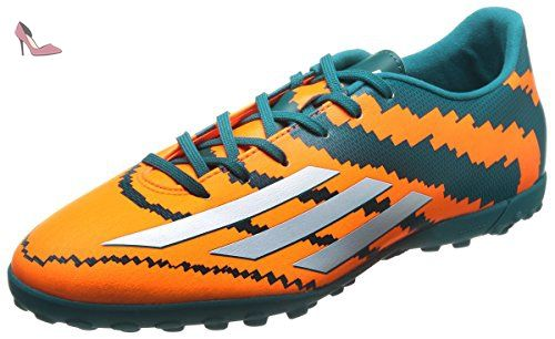 huge discount 8b0fe 5e43e adidas Messi 10.3 Tf, Chaussures de football homme - Orange - Orange (bleu  sarcelle