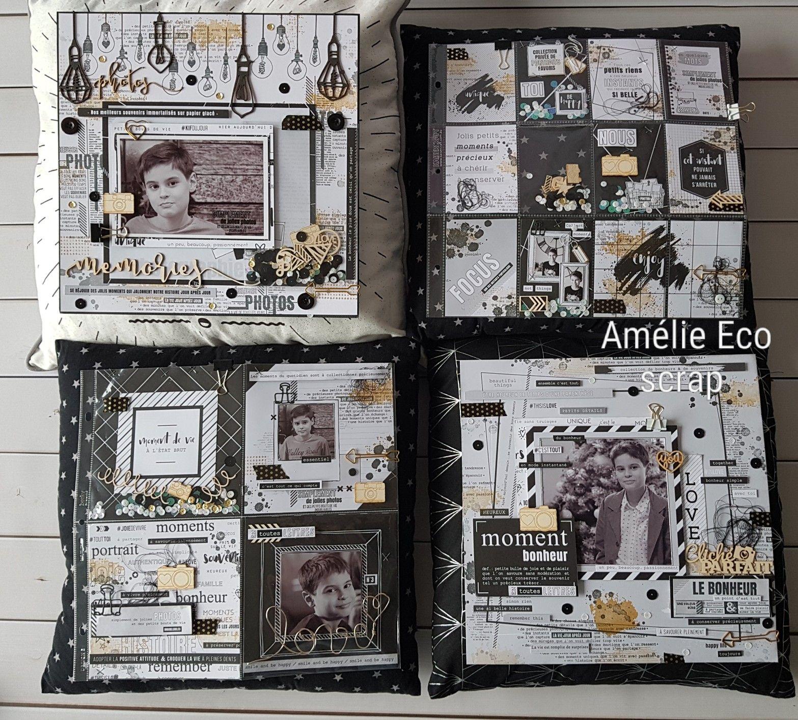 Photo Noir Et Blanc Design pages en noir et blanc florileges design | scrapbook, album