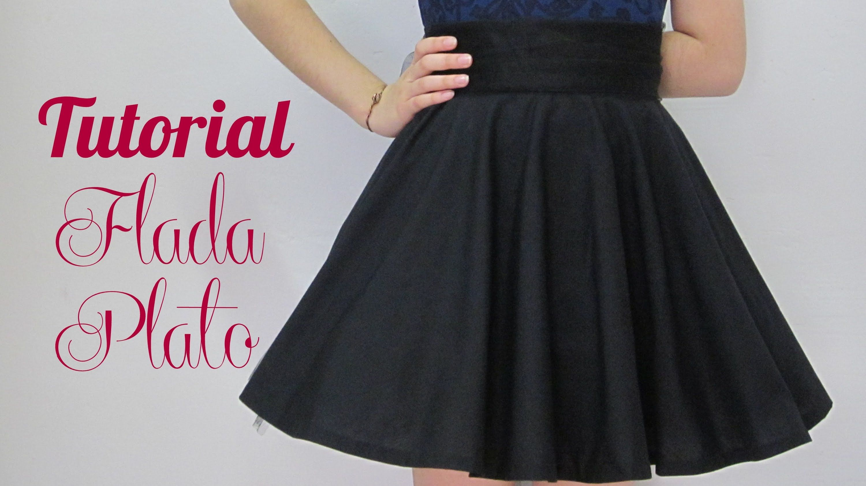 Falda circular plato circular skirt plate dressmaking falda circular plato circular skirt plate dressmaking patterns for free sewing dressmaking jeuxipadfo Gallery