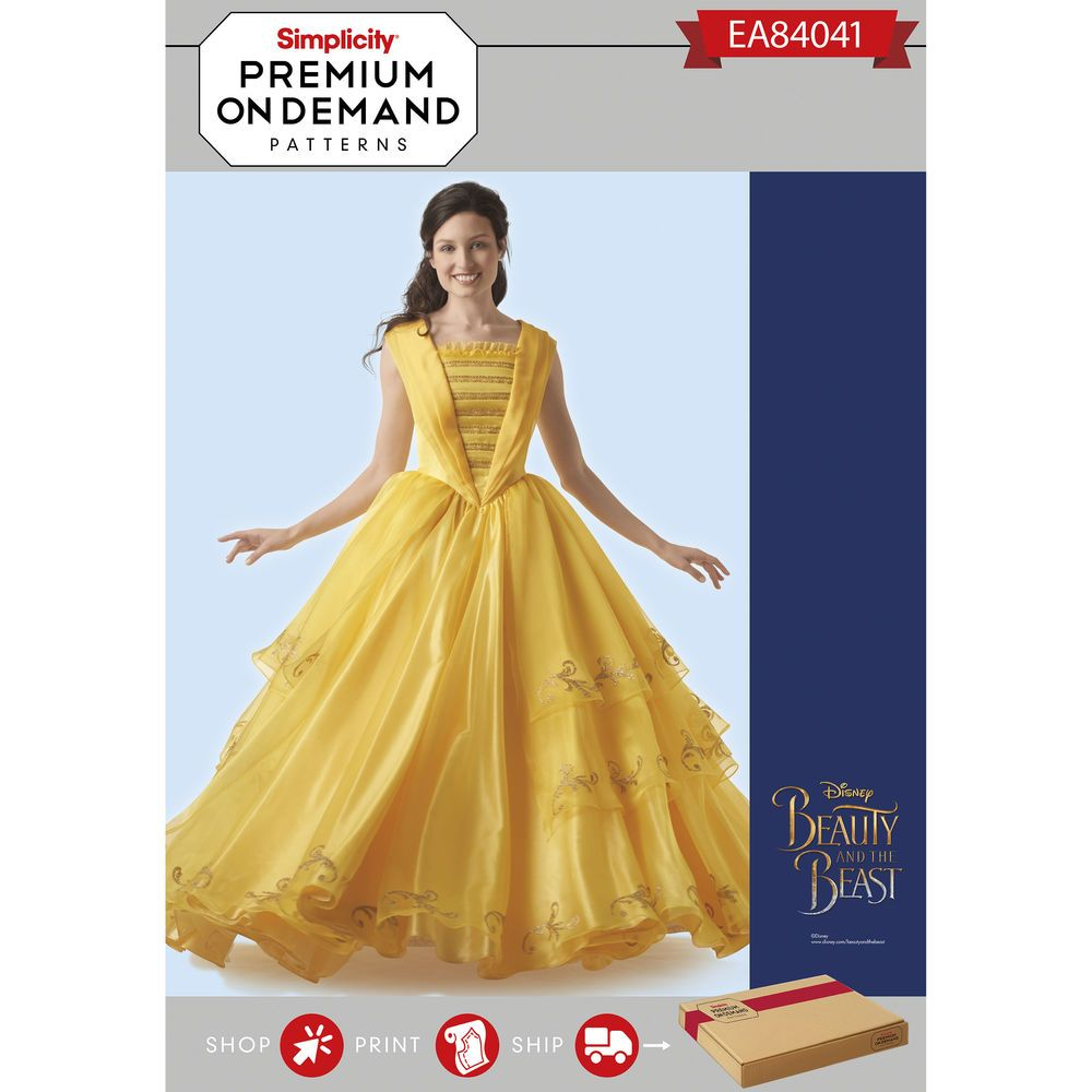 Disney Beauty and the Beast Live Action gown—like Belle, turn your ...