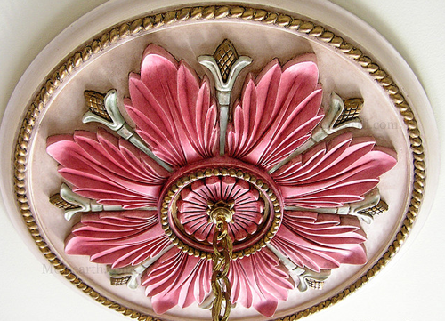 Ceiling Medallions In The Nursery Ceiling Medallions Painted Ceiling Pop Ceiling Design