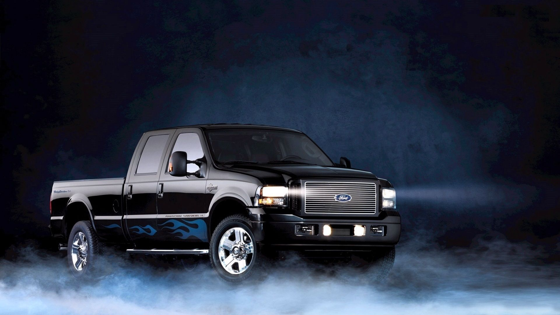 Ford F 150 1920 1080 Hd Background Ford F Series Harley