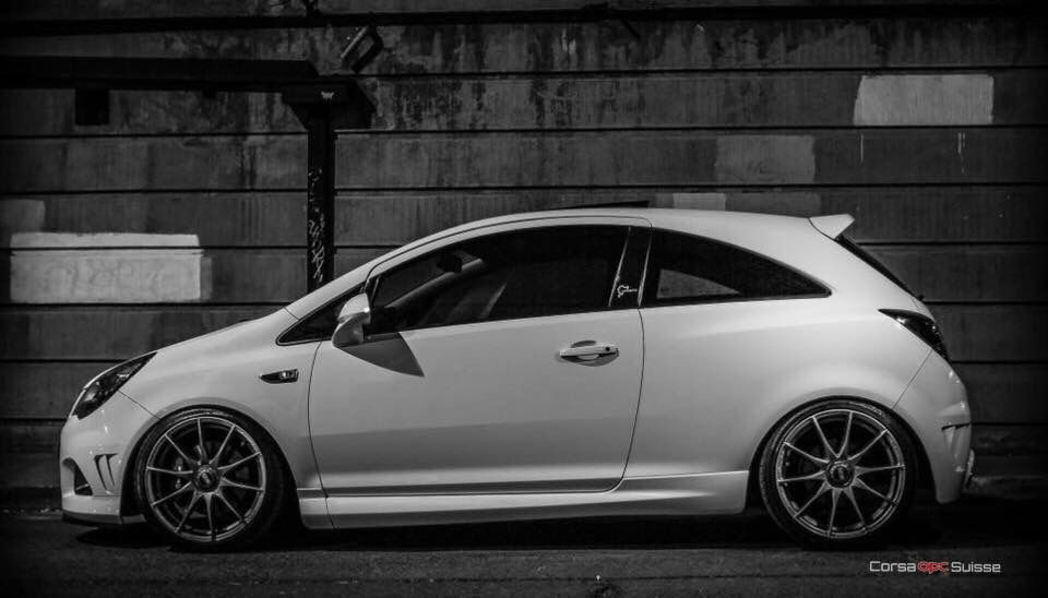White Corsa Opc Vxr