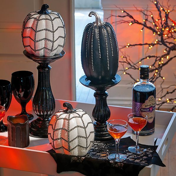 Bling Pumpkins - Improvements Catalog halloween Pinterest Bling - halloween catalog