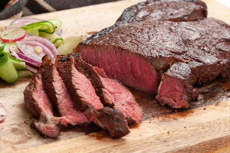 Photo of Marinated Top Round Steak for the Broiler or Grill